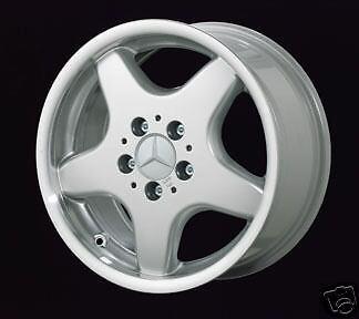 New 16 Mercedes AMG Style 5 Spoke Alloy Rims Wheels
