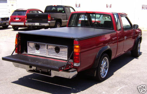 Durable Aluminum Truck Bed Drawer Tool Box / Storage Box 48x40x10 5/8