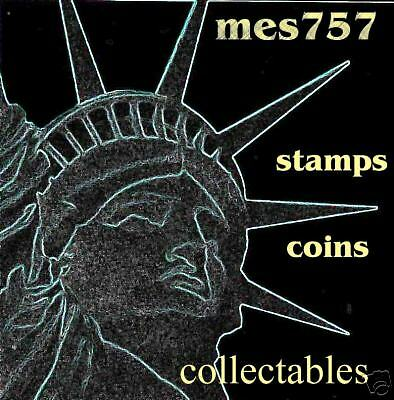 MES 757 COINS STAMPS COLLECTABLES
