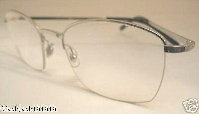 539e515407aa New Cartier Semi Rimless Platinum Eyeglasses T8100617 France 4 4 of 6 ...